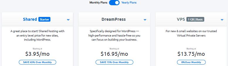 dreamhost тарифы